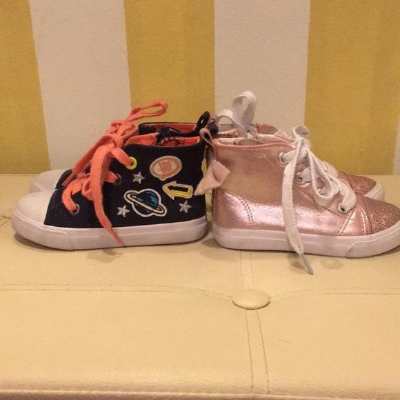 6797913492 Cat & Jack Shoes | Cat Jack Toddler Size 6 Sparkle Shoe Sz 7 Space ...